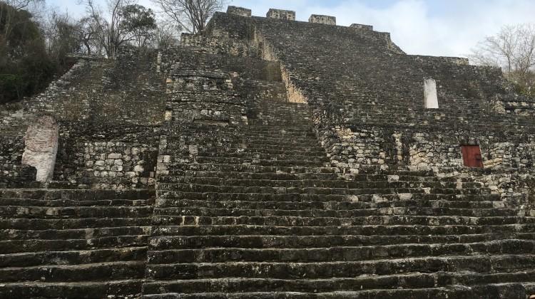 Hauptpyramide von Calakmul, Struktur 1