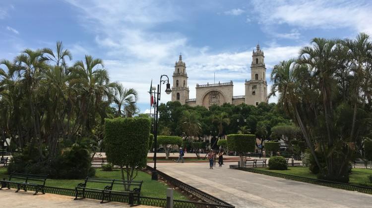 Historisches Herz von Mérida