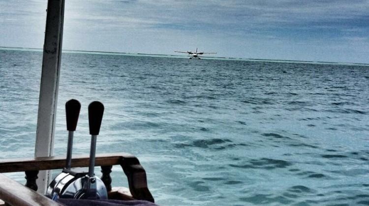 Sicht aufs Wasserflugzeug