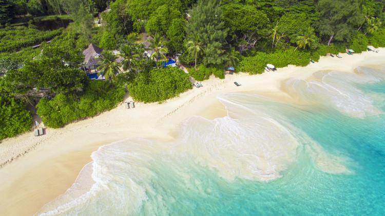 Intendance Bay - Strand vom Banyan Tree Seychelles