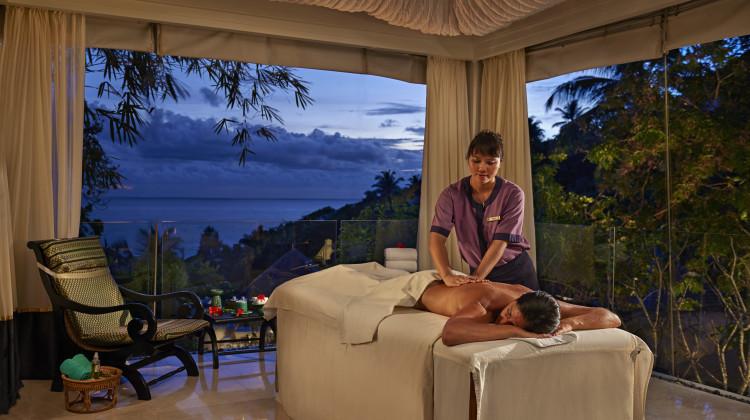 Spa - Eine Massage im Banyan Tree Seychelles ist ein Muss für jeden Wellnessfan